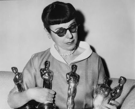 As estatuetas de Edith Head #aquecimentoOscar
