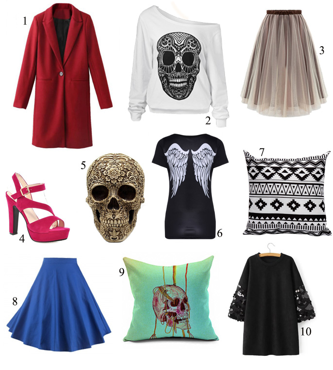 Wishlist de Halloween da Rose Wholesale